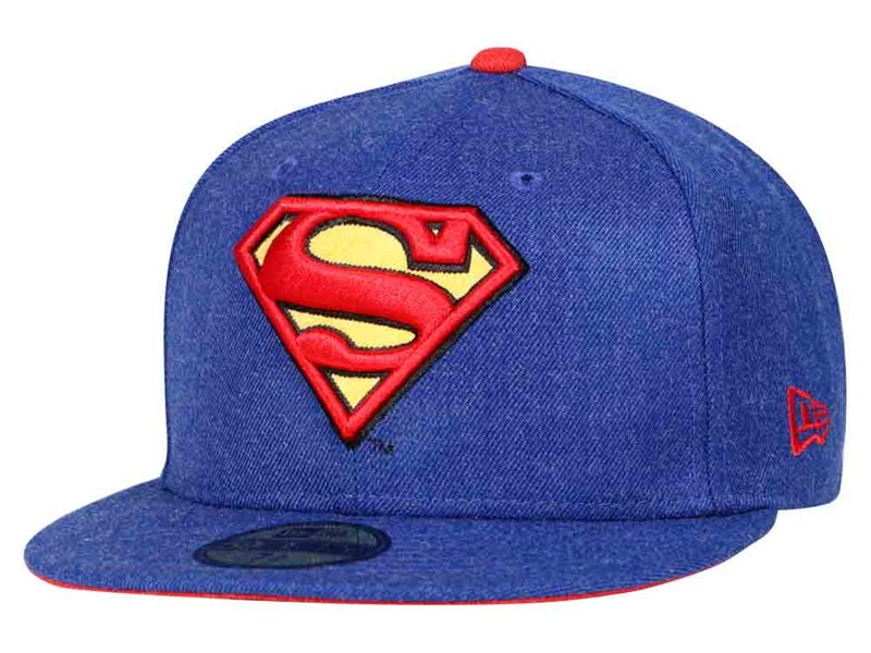 differently b31d9 9aee7 The Superman line from the DC Collection also includes 9FORTY and 9TWENTY  snapbacks in blue or black. Emblems range from the Superman shield to the  hero s ...