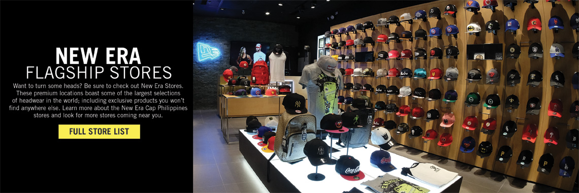 Store Locator | New Era Stores | New Era Cap PH