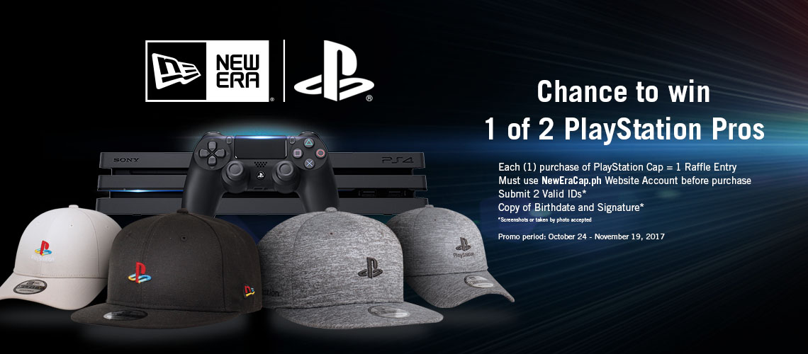 013e14704e6 In line with the collaboration of New Era Caps Philippines and PlayStation