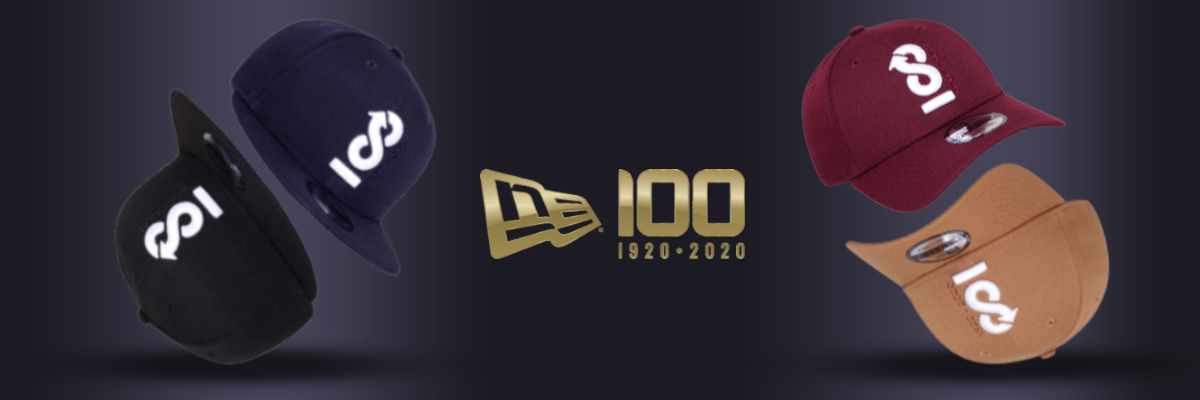New Era 100th Anniversary Centennial Infinity 9FIFTY Cap & 9FORTY Caps