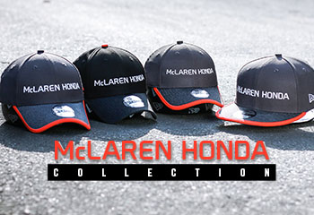 NEW ERA BECOMES OFFICIAL HEADWEAR PARTNER OF McLAREN-HONDA