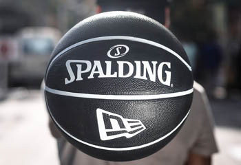 New Era Spalding Ball Promo