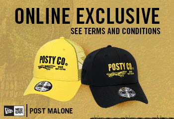 POST MALONE ONLINE EXCLUSIVE