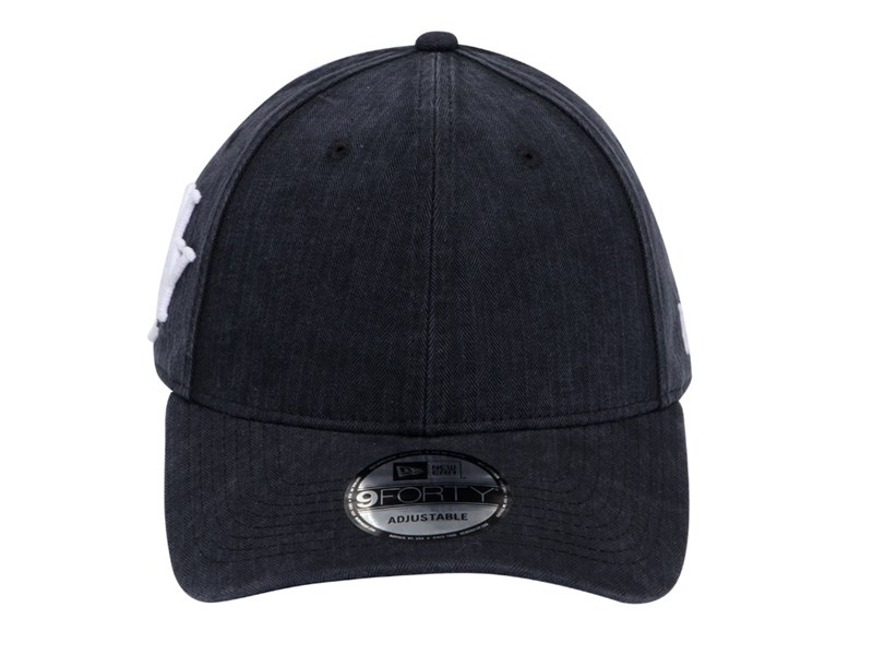 New Era NYC Vintage Herringbone Black 9FORTY Cap