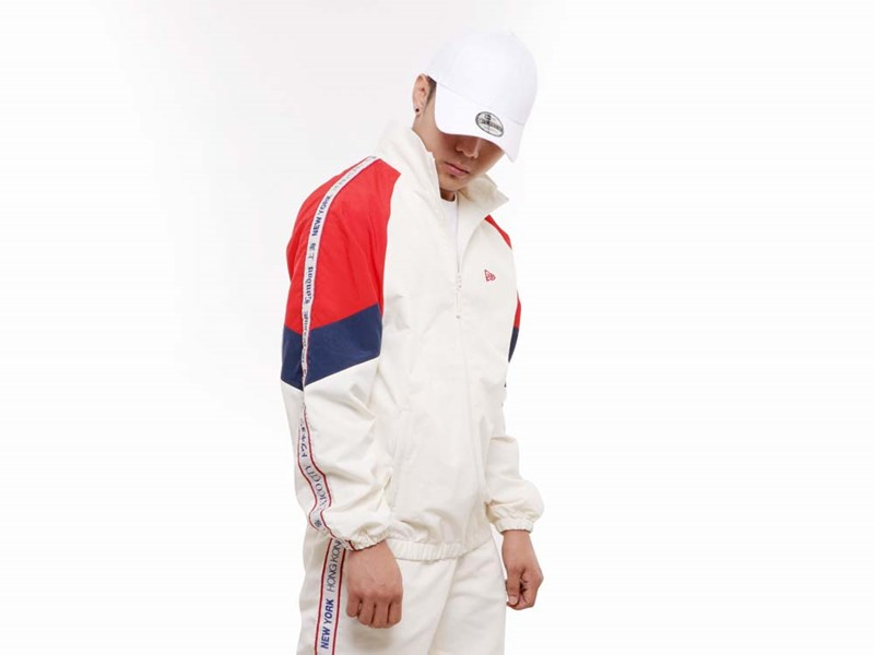New Era World Wide 3 Off White Jacket