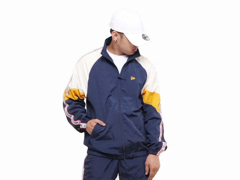 New Era World Wide 3 Navy Jacket