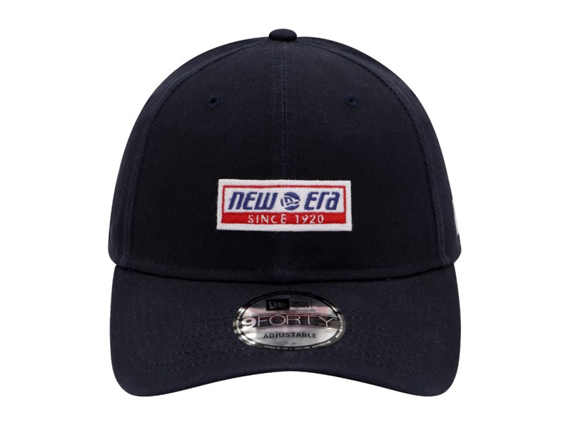 New Era Est. 1920 Felt Logo Navy 9FORTY Unstructured Cap