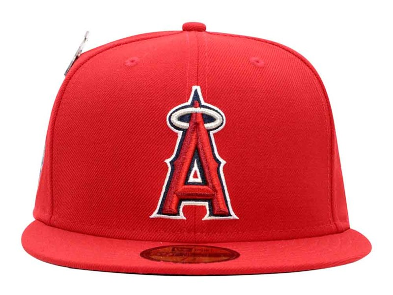 Anaheim Angels MLB 25th Anniversary Red 59FIFTY Cap