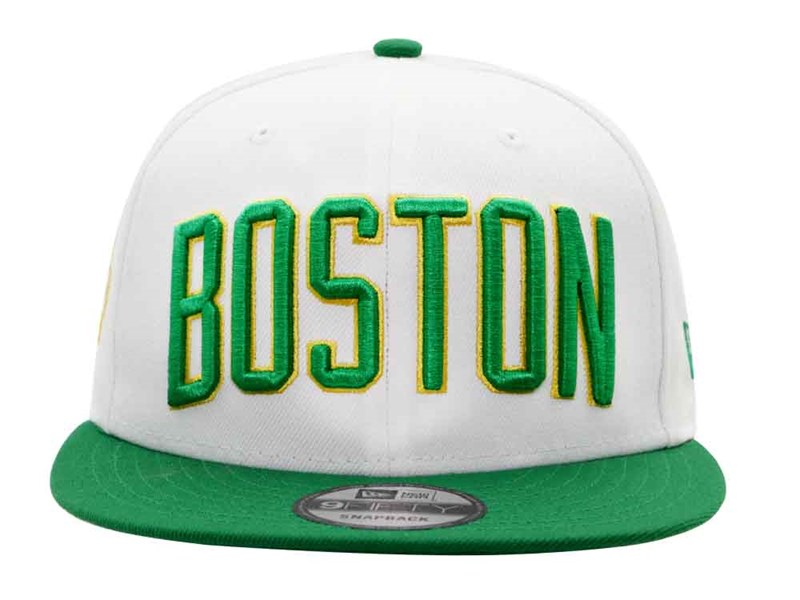 Boston Celtics NBA City Series '18 White Green 9FIFTY Cap