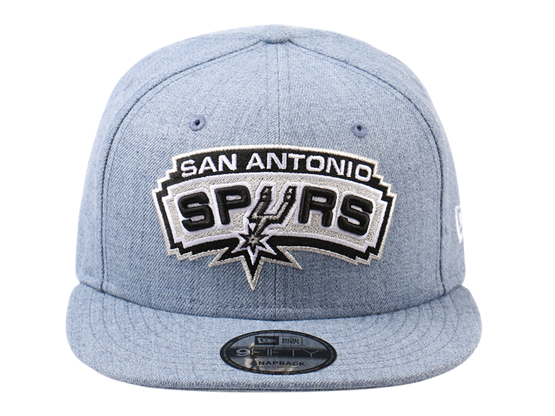 San Antonio Spurs NBA Heather 9FIFTY Cap