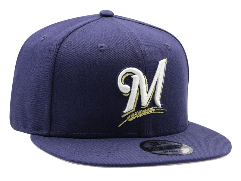 Milwaukee Brewers MLB Basic 2018 Navy 9FIFTY Cap
