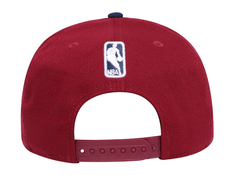 Cleveland Cavaliers NBA Callout Trim Dark Red 9FIFTY Cap