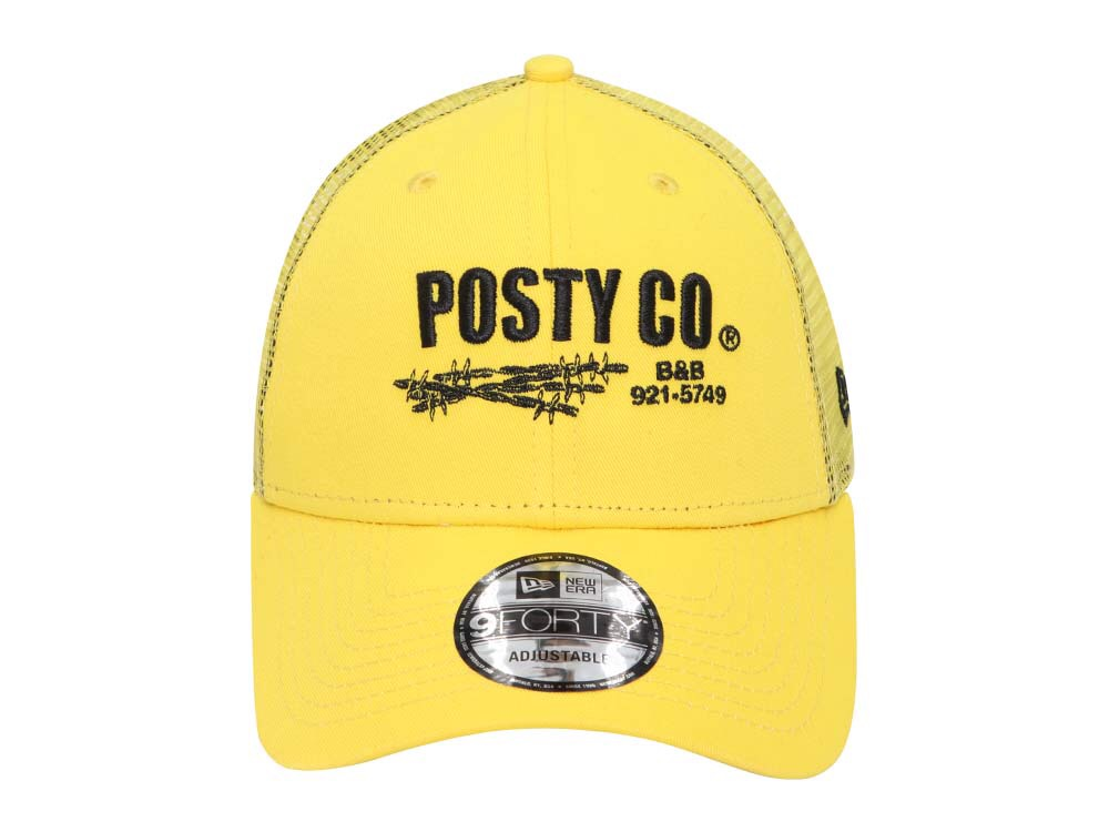 3081555c64e Posty Co. Post Malone Trucker Yellow 9FORTY Cap