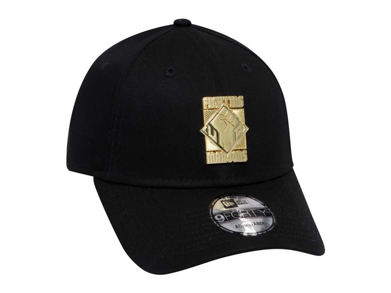 University of the Philippines Fighting Maroons UAAP Gold Badge Black 9FORTY Cap
