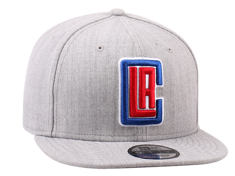 Los Angeles Clippers NBA Heather 9FIFTY Cap