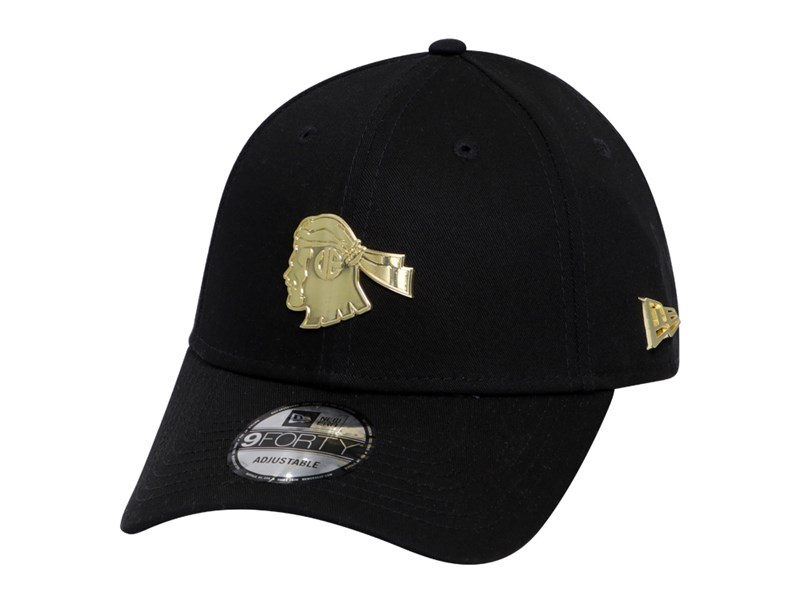 University of the East Red Warriors UAAP Gold Badge Black 9FORTY Cap