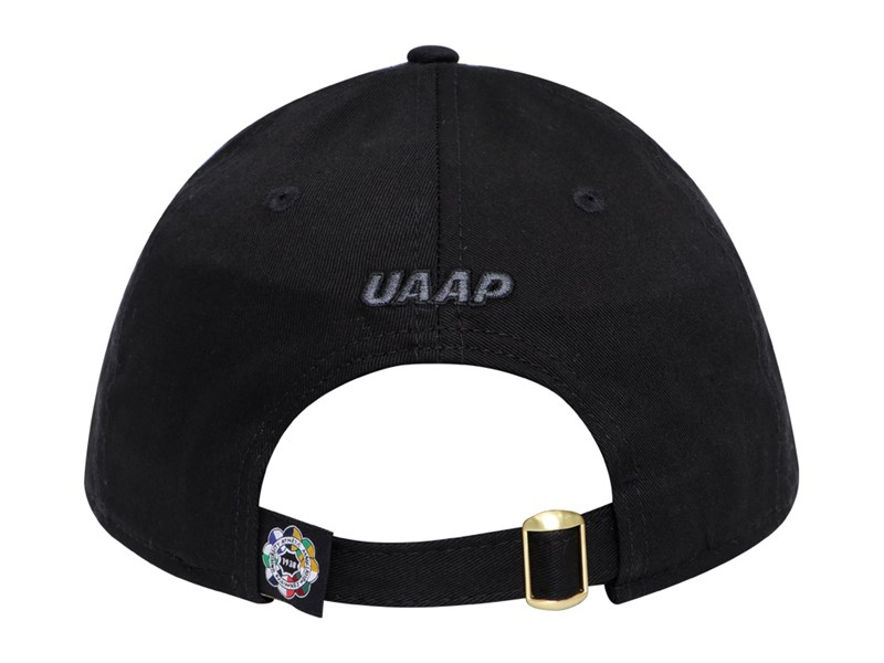 National University Bulldogs UAAP Gold Badge Black 9FORTY Cap