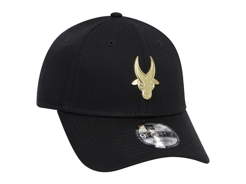 Far Eastern University Tamaraws UAAP Gold Badge Black 9FORTY Cap