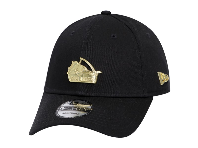 De La Salle Green Archers UAAP Gold Badge Black 9FORTY Cap