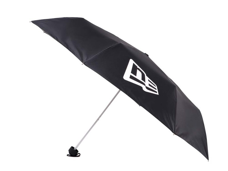 New Era Umbrella with UV Protection  Black Accessory
