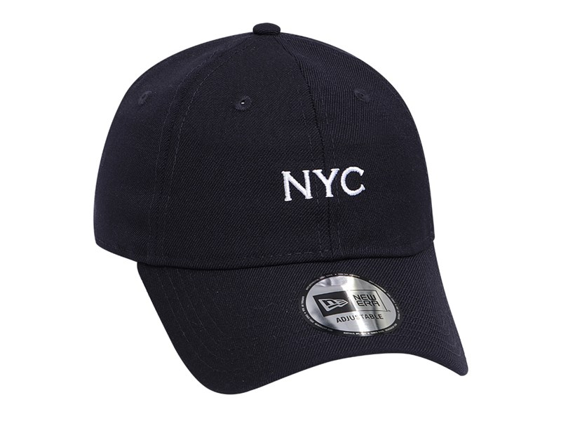 New Era NYC Basic Fabric Navy 9THIRTY Cap