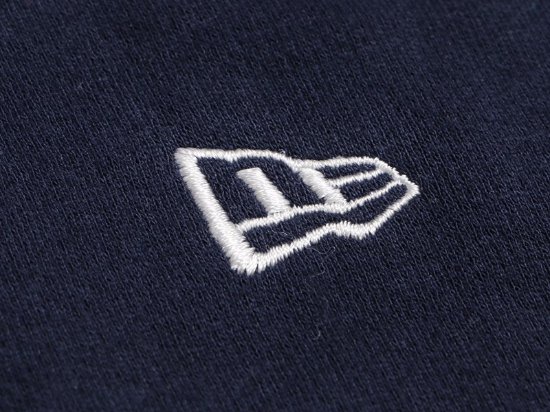 New Era Flag Mini Logo Navy Essential Hoodie