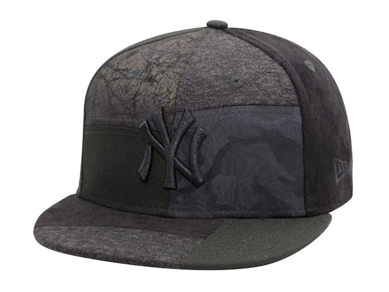 New York Yankees MLB Premium Patched Black 9FIFTY Cap