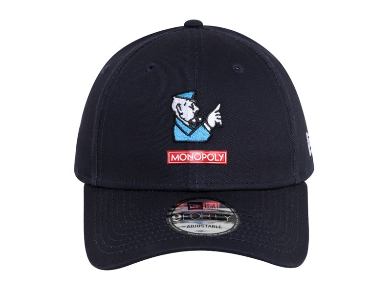 New Era Monopoly Entertainment Go To Jail Navy 9FORTY Cap
