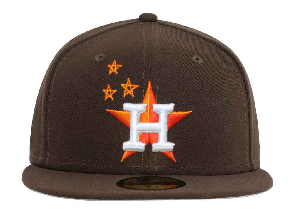 57d557b17f575 Houston Astros MLB Travis Scott Limited Edition Brown 59FIFTY Cap (ONLINE  EXCLUSIVE)