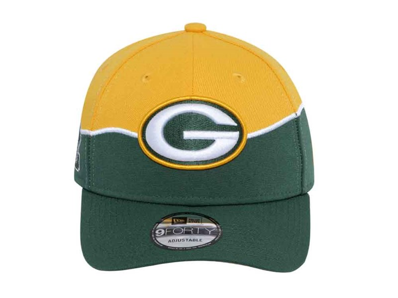 Green Bay Packers NFL Draft 2019 Dark Green 9FORTY Cap