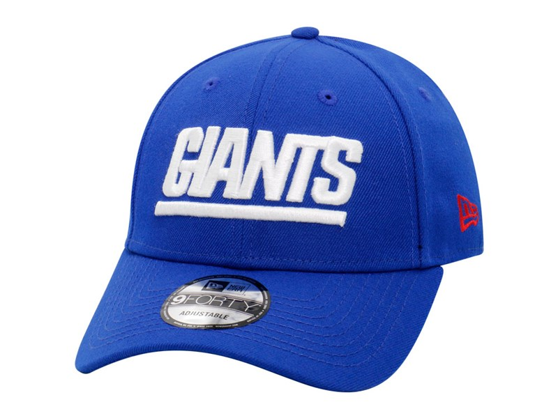 New York Giants NFL Wordmark Snap Blue 9FORTY Cap