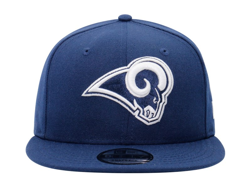 Los Angeles Rams NFL Logo Blue 9FIFTY Cap