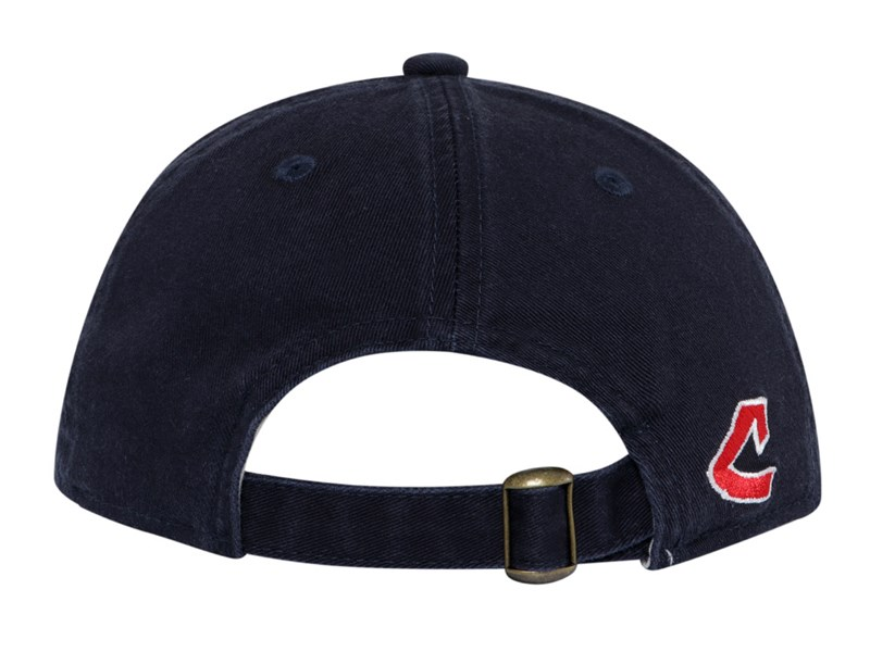 Cleveland Indians MLB Classic Team Front Navy 9TWENTY Cap
