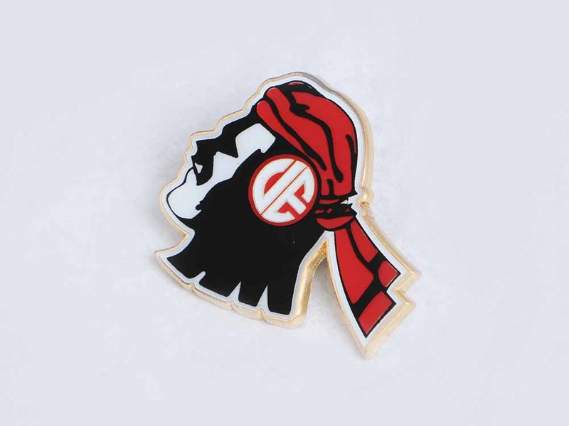 UE Go Fight Red and White  UAAP Cheer Pin Red 9FORTY Cap