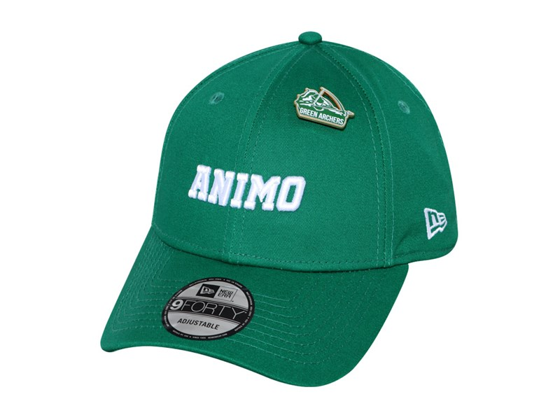 DLSU Animo UAAP Cheer Pin Green 9FORTY Cap