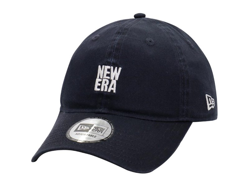 New Era Basic Logo Navy 9THIRTY Cap