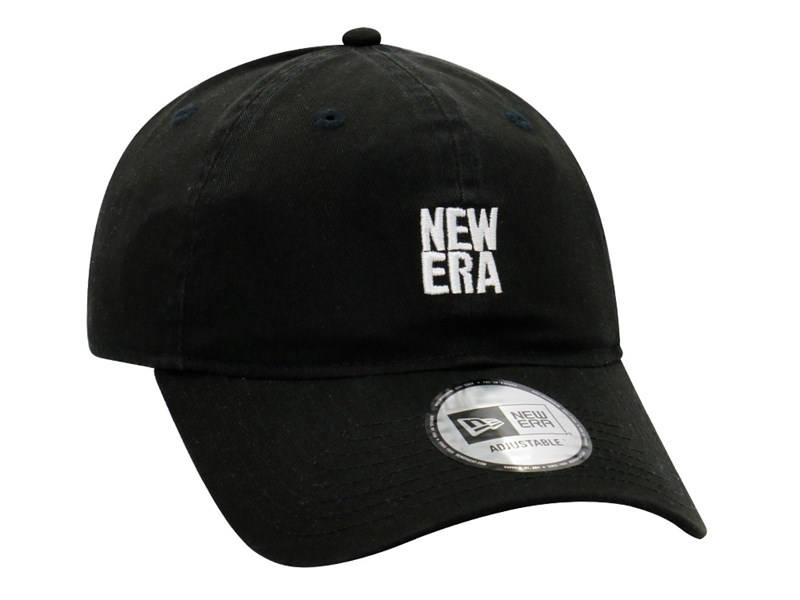 New Era Basic Logo Black 9THIRTY Cap