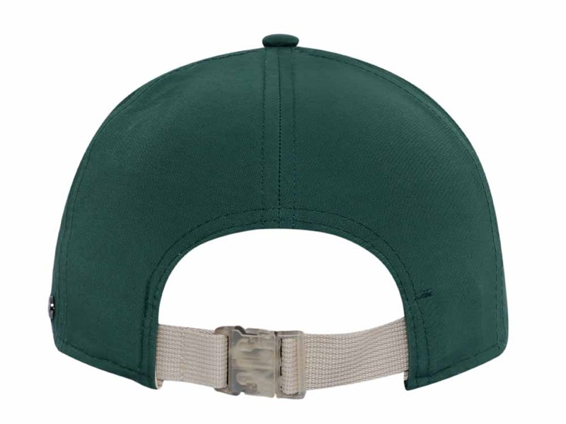 New Era Cotton Nylon Packable Green 9TWENTY Cap