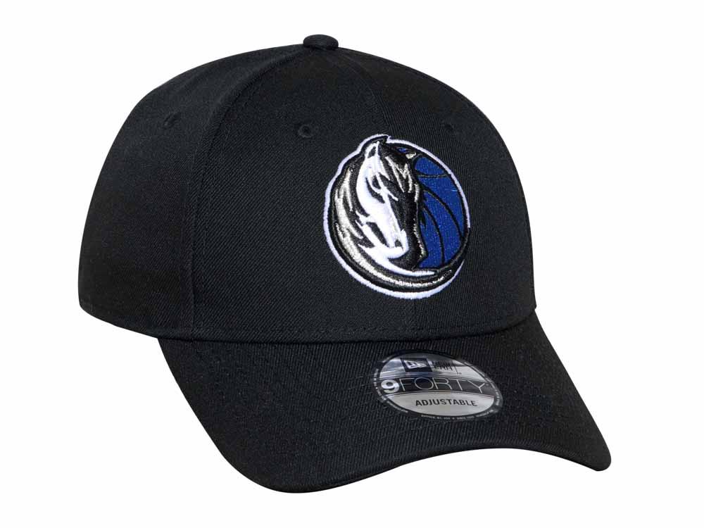 premium selection 0d5ef 6614f Dallas Mavericks NBA Snap Black 9FORTY Cap