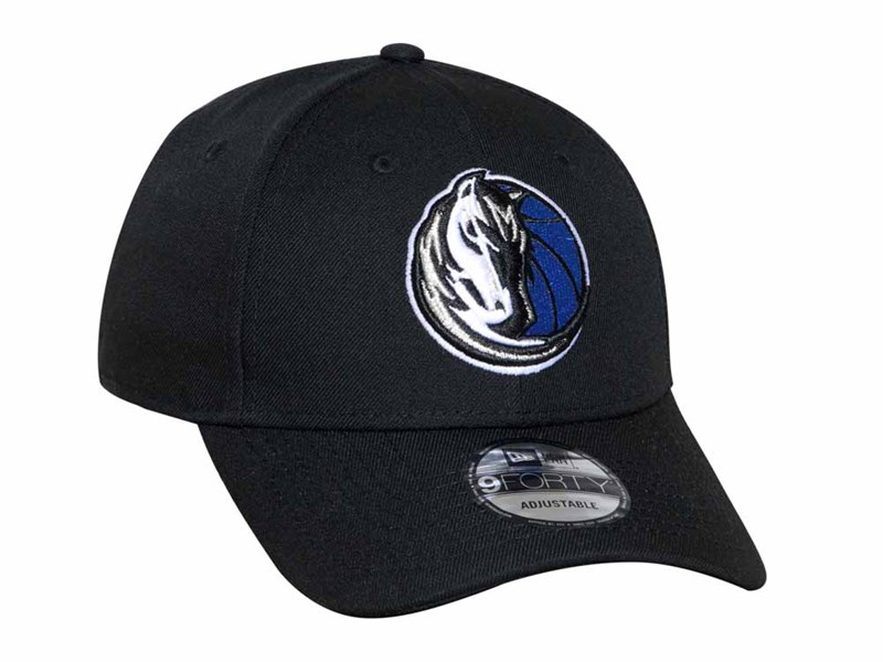 Dallas Mavericks NBA Snap Black 9FORTY Cap