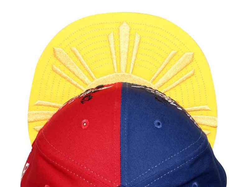 Mi Ultimo Adios  Pag-ibig Sa Tinubuang Lupa PH Independence Day 2019 Yellow Blue Red 59FIFTY Cap LIMITED EDITION