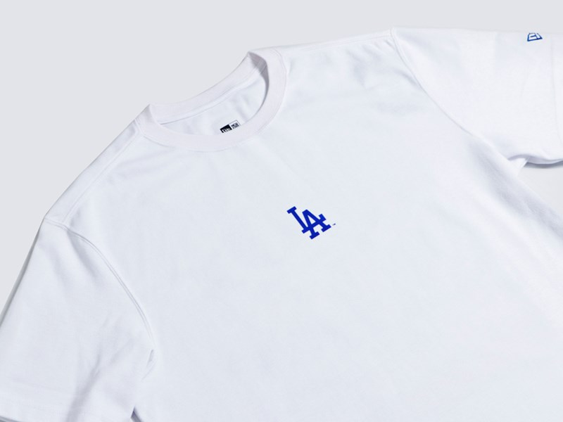 Los Angeles Dodgers MLB 6X World Series Champions Trophy White Short Sleeve Shirt