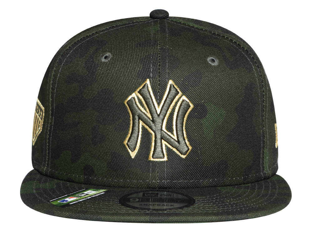 separation shoes b49eb 6860d New York Yankees MLB Armed Forces Weekend 2019 Dark Green 9FIFTY Cap