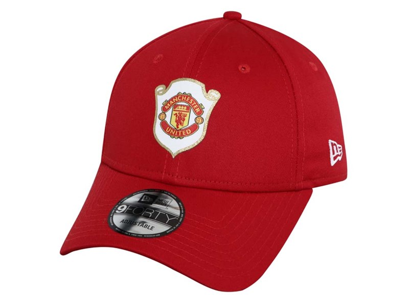 Manchester United FIFA The Treble 1999 Red 9FORTY Cap
