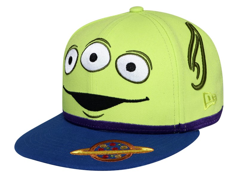 Aliens Disney Toy Story 4 Cyber Green 59FIFTY Youth Kids Cap