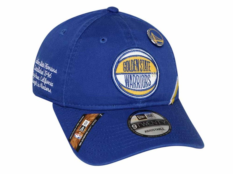 Golden State Warriors NBA Draft 2019 Blue 9TWENTY Cap