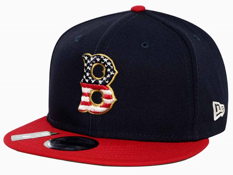 Boston Red Sox MLB July 4th Season 2019 Navy 9FIFTY Cap