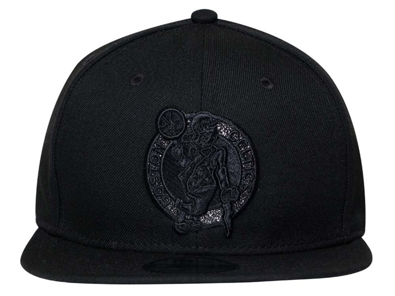 Boston Celtics NBA Tonal Luster Black 9FIFTY Cap