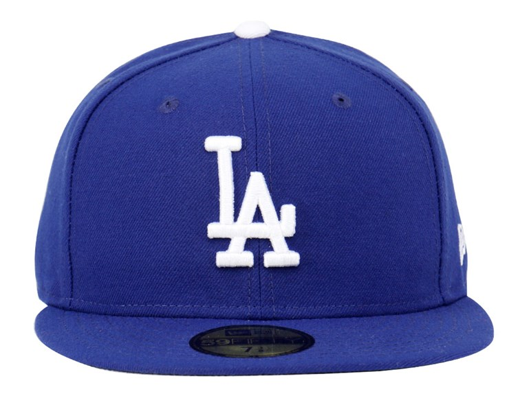 Los Angeles Dodgers MLB AC Blue 59FIFTY Cap