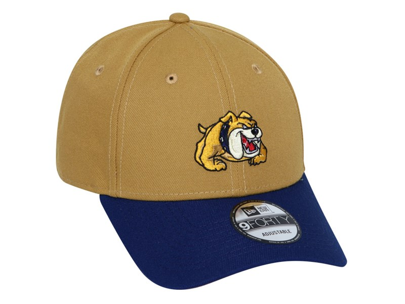 NU Bulldogs UAAP Two Tone Navy Brush Bronze 9FORTY Snap Cap